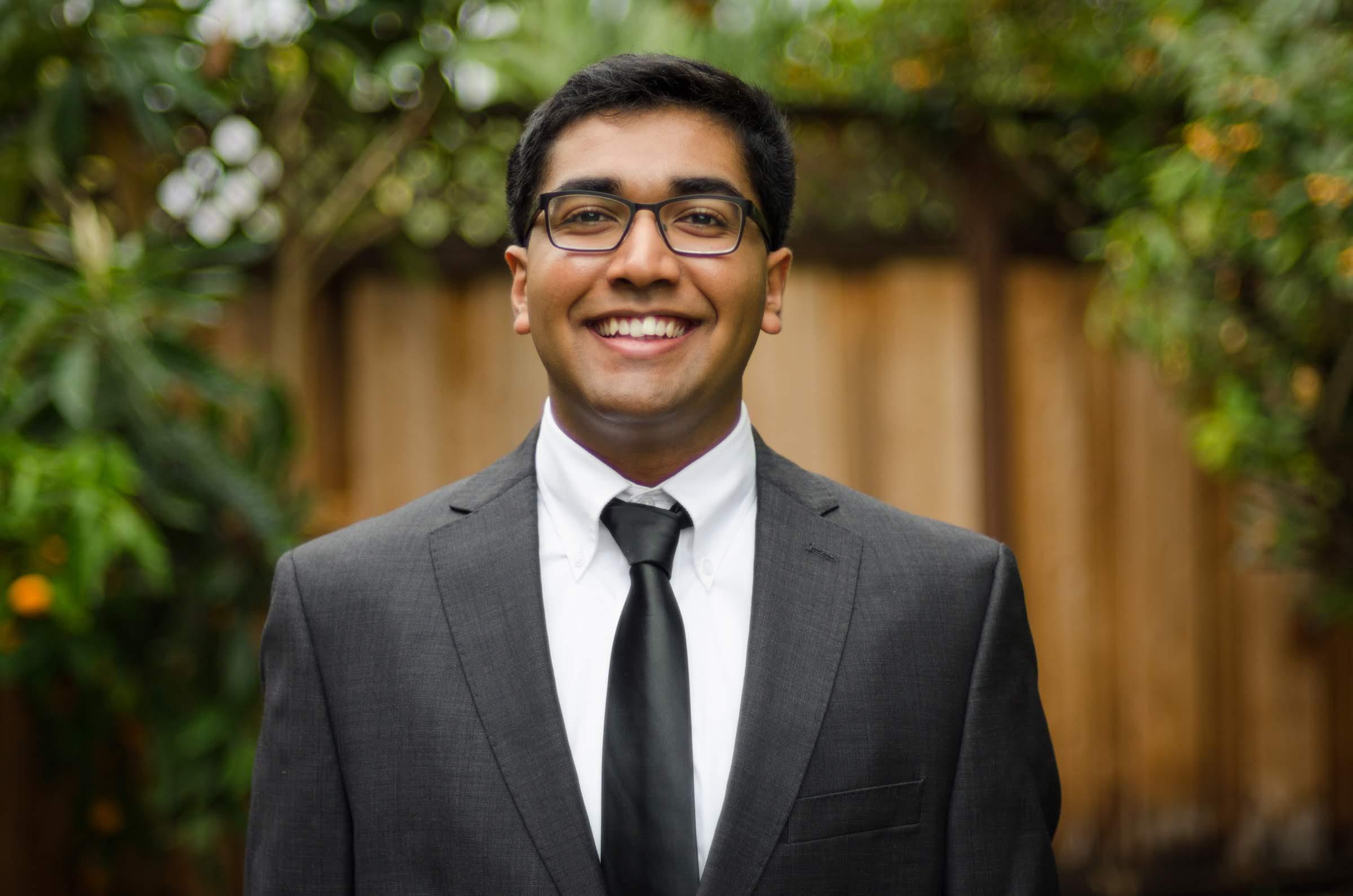 Arjun Mathur, SJSU student