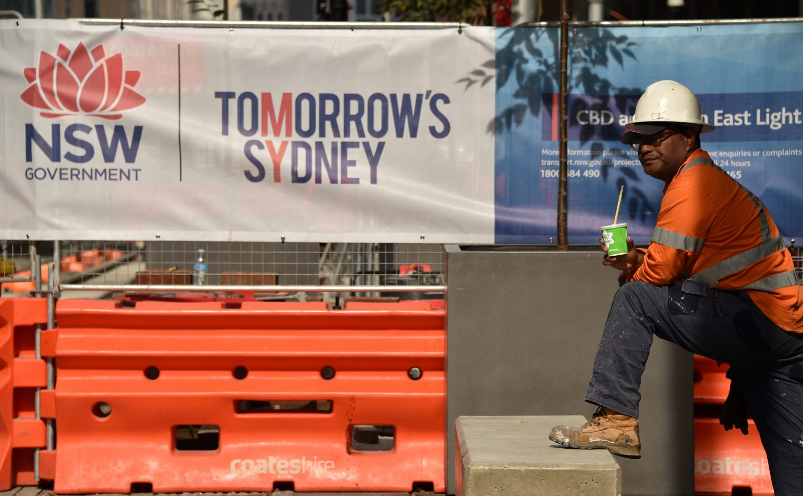 construction worker in Australia