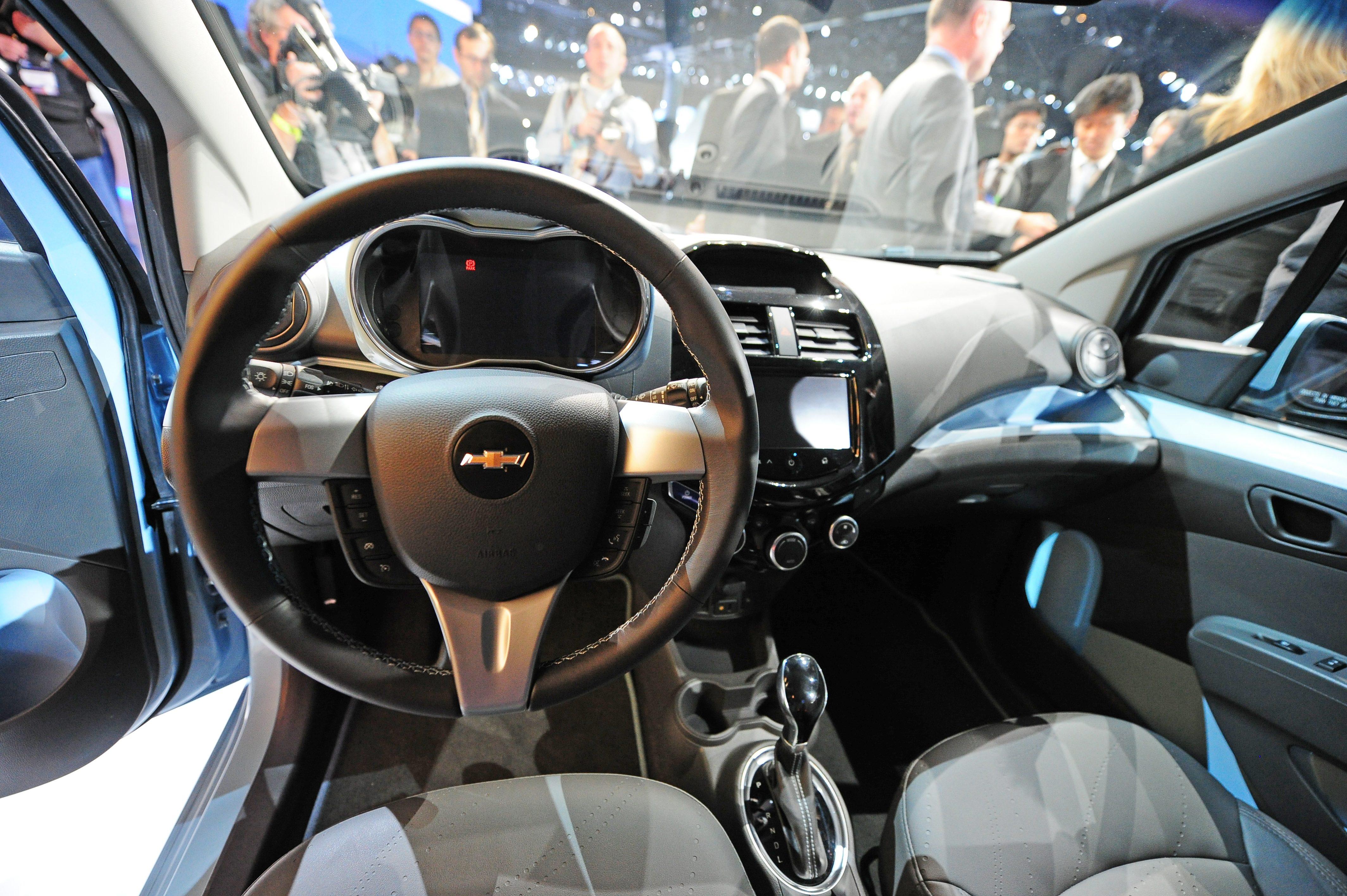 Spark EV Chevrolet interior