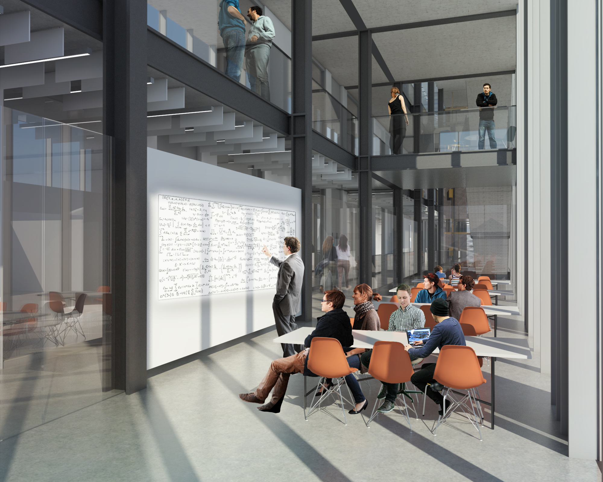 Proposed teaching space at Engineering Innovation Centre