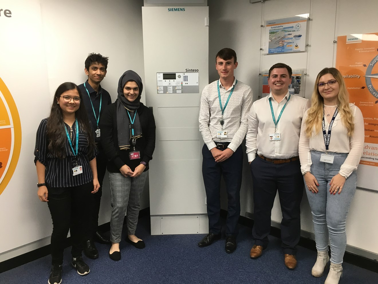 Siemens students Industry 4.0 programme